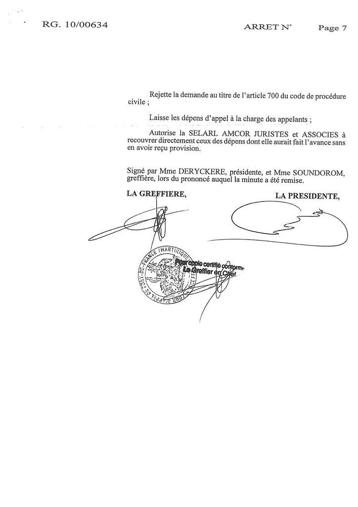 Indemnisation West Carribean Airways : Jugement du TGI de Fort-de-France en date du 30 septembre 2008 (7)