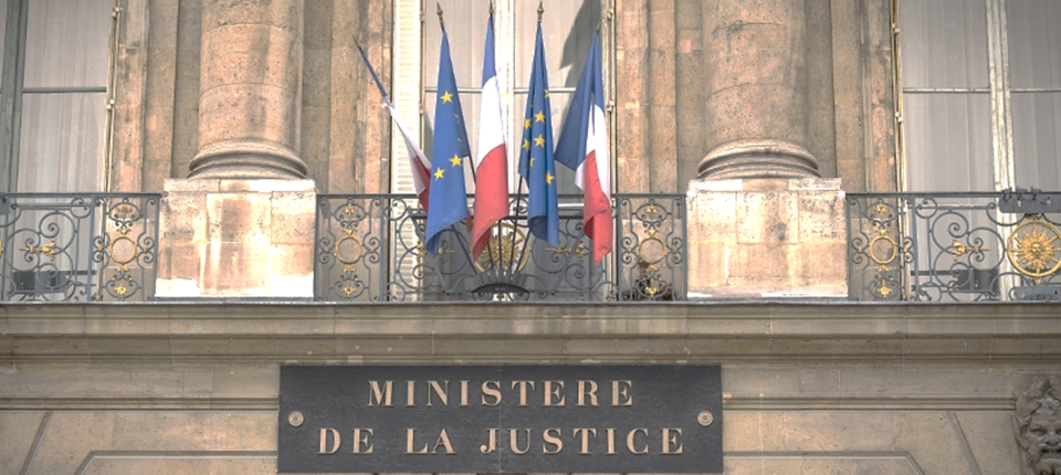 The French Ministry of Justice © L. Bonaventure